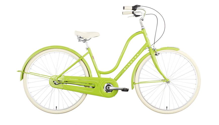 Electra Amsterdam Original 3i Rower miejski Kobiety zielony